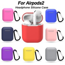 Soft Silicone Case for Apple Airpods Shockproof Cover for  Apple AirPods Oortelefoon Cases Ultra for  Air Pods Protector Case