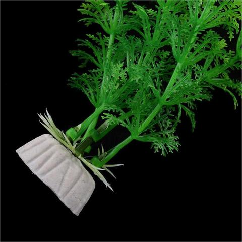 Hot Sale 2pcs Green Aquarium Artificial Water Plant Grass Decoration Fish Tank Landscaping Accessories Ornaments 30cm Karachi