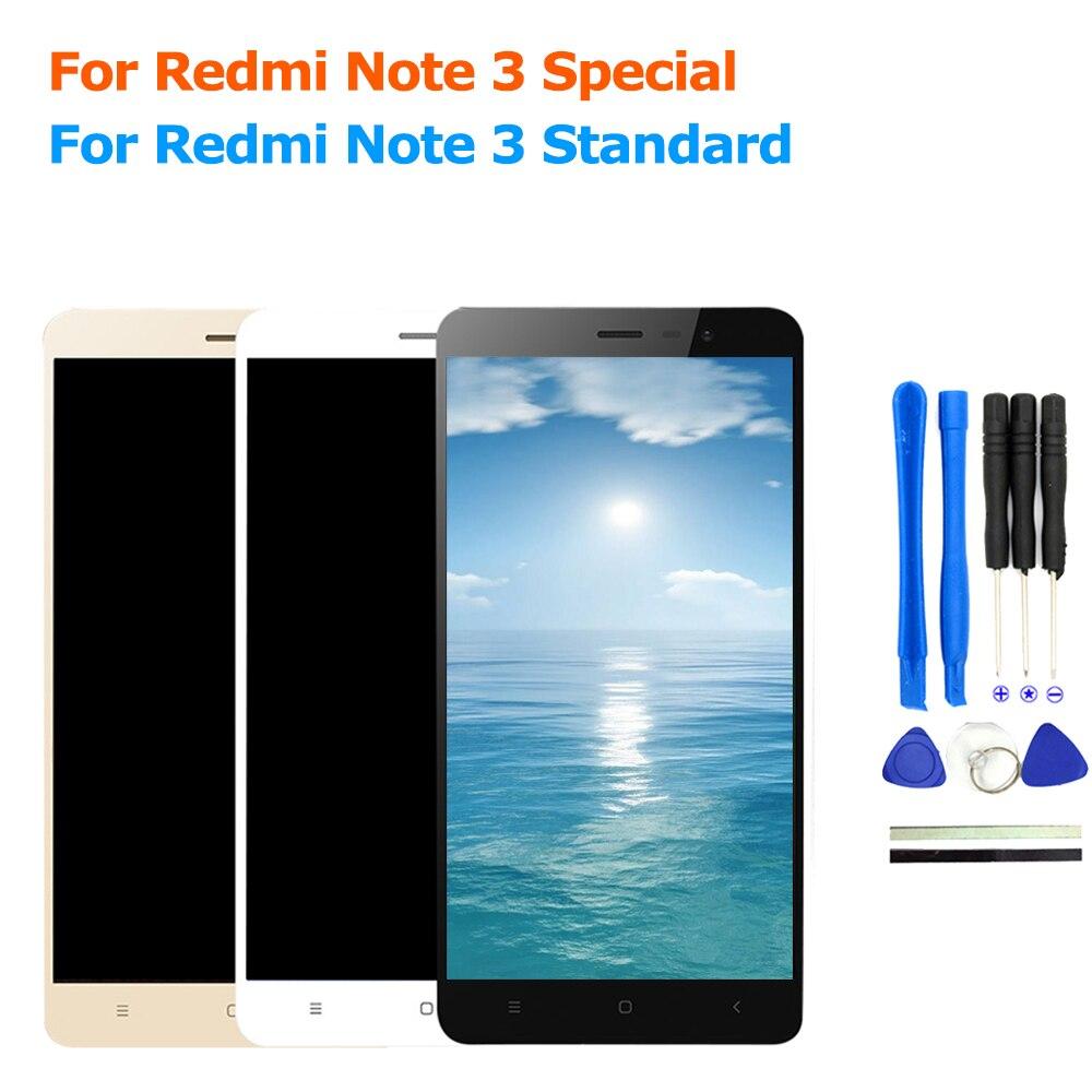 Pour Xiaomi Redmi Note 3 Premier Pro Écran lcd Tactile Écran pour Xiaomi Redmi Note 3 Pro Édition Spéciale Mondial Version SE 152mm
