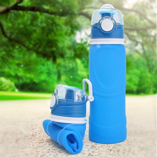 Bouteille d'eau pliable 750 mL 5