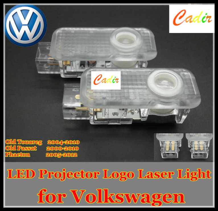 Car LED Courtesy Door Laser Projector Shadow Logo Light Volkswagen old Touareg,Passat,Phaeton - Cadir store