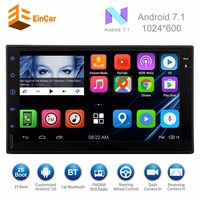 Android 7.1 2 din car gps navigator 2 din android Head Unit support 3G 4G OBD2 Bluetooth WIFI/navigation/USB/SD two din stereo