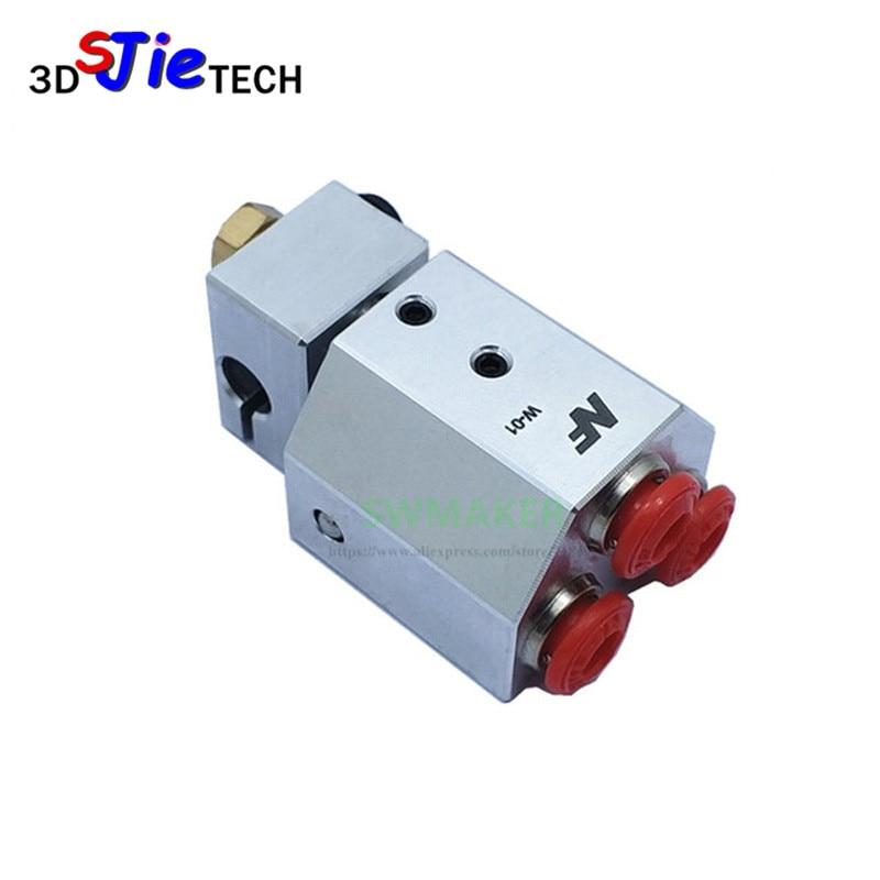 1 ensemble tout métal refroidi à l'eau Hotend bowden-alimentation liquide de refroidissement 0.4mm 1.75mm refroidi à l'eau pour Titan MK8 extrudeuse PLA ABS