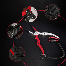 Aluminum Alloy Fishing Pliers Split Ring Cutters Fishing Holder