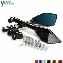 Motorcycle Mirrors Moto Side Rearview Mirrors For Yamaha R1 R3 R6 R125 FZ6 FZ1 FAZER XV 950 MT07 MT09 MT 03 TMAX XMAX VMAX 1200