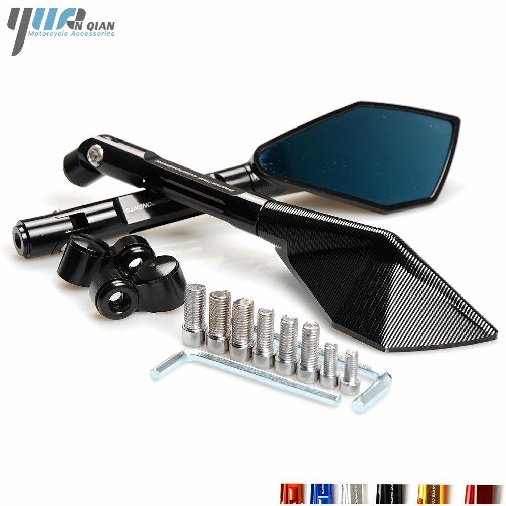 Motorrad Spiegel Moto Side Rückspiegel Für Yamaha R1 R3 R6 R125 FZ6 FZ1 FAZER XV 950 MT07 MT09 MT 03 TMAX XMAX VMAX 1200