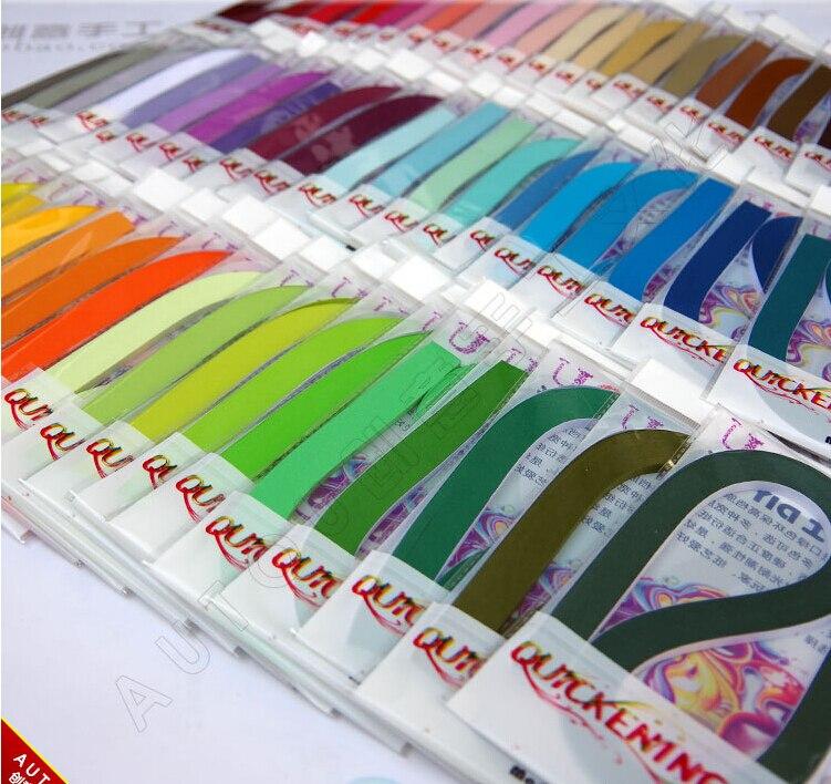 Freies Verschiffen (100 streifen/paket) 3 & 5 & 10mm 60 Farben Quilling Papier DIY Dekoration Druck Relief Geschenk-in Kraftpapier aus Heim und Garten bei  Gruppe 1
