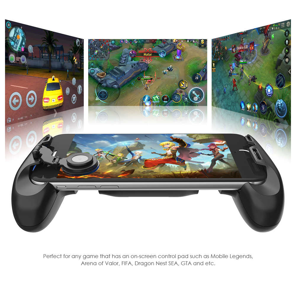 Gamesir F1 джойстик выдвижная ручка игровые аксессуары контроллер ручка для смартфон аналогового Джойстик для Android и iOS