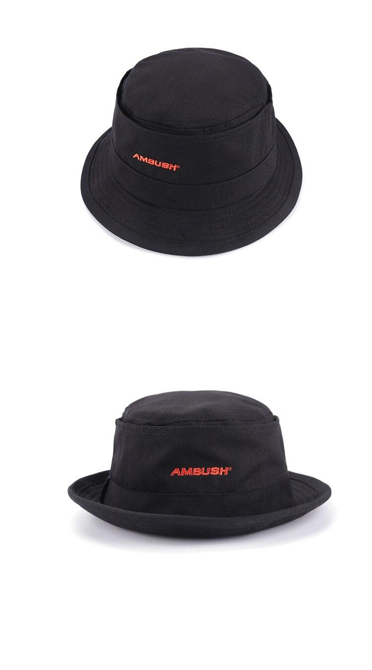 Chapéu com logotipo vermelho ambush, chapéu casual