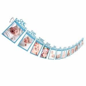 Image 5 - Laphil Baby 1st Verjaardag Jongen Meisje 12 Maand Foto Banner Ik Ben Een Photo Booth Banner Mijn Eerste Verjaardag decoraties Kids