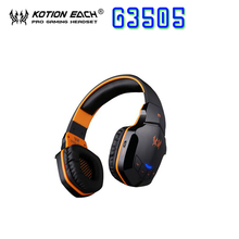 Kotion every G3505 Wi-fi Bluetooth four.1 Stereo Gaming Headset Earphone Headset NFC assist with Mic for iphone for Samsung