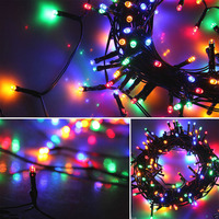 Tanbaby 40M 400LEDS Outdoor Solar Powered Lamps LED String Fairy Lights Holiday Christmas Party Garlands Solar Garden Waterproof