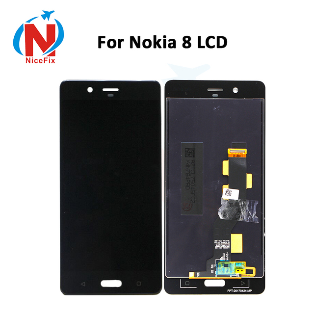 """5.3"""" LCD For Nokia 8 LCD Display with Touch Screen Digitizer Assembly lcd for Nokia8 N8 TA 1004 TA 1012 TA 1052 with free tools"""