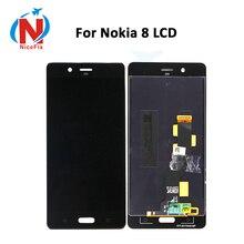Pantalla LCD de 5,3 pulgadas para Nokia 8 LCD con montaje de digitalizador con pantalla táctil lcd para Nokia8 N8 TA 1004 TA 1012 TA 1052 con herramientas gratuitas