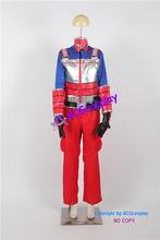 Fantasia cosplay de harry danger kid, traje de vestido de anime para crianças, inclui máscara plissada, cosplay