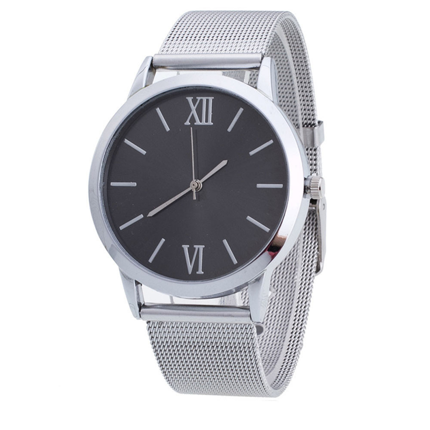 OTOKY Women Ladies Watch Saat Silver Stainless Steel Hour Mesh Band Wrist Watches Hot Selling JUN7 p30 hot selling stainless steel watch women