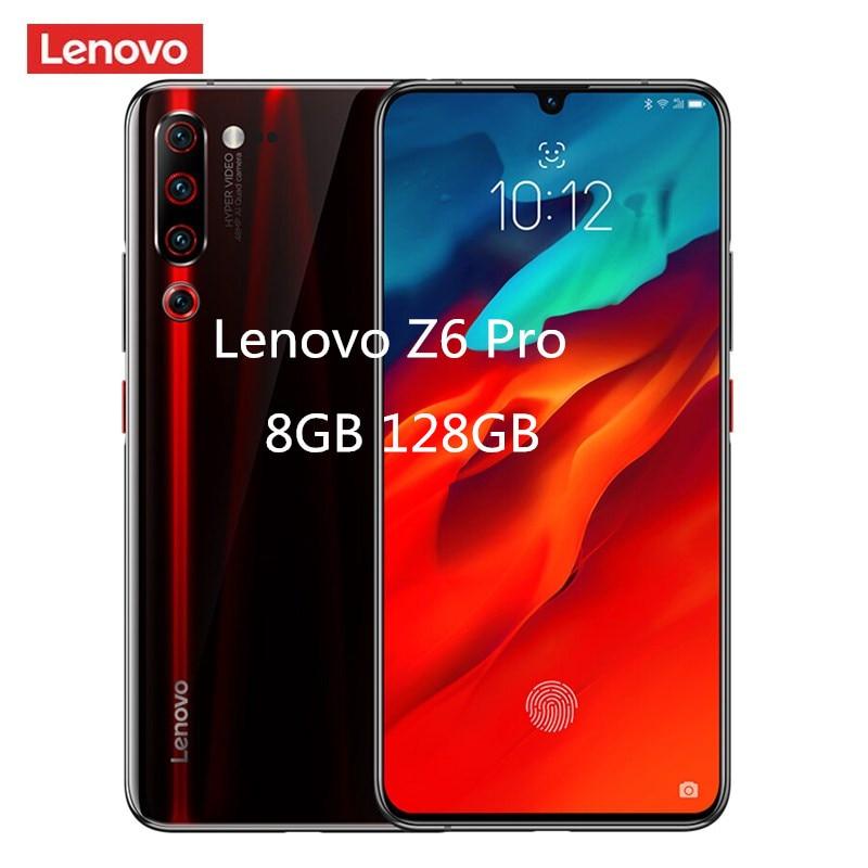 Lenovo Z6 Pro 4G Smartphone 6.39'' Android 9.0 Snapdragon 855 Octa Core 6GB RAM 128GB ROM 48.0MP+16.0MP+8.0MP+2.0MP 4000mAh