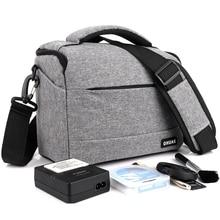 Фото DSLR камера сумка чехол полиэстер сумка для Canon EOS 200D 100D 77D 600D 700D 750D 6D 60D 1300D 1200D Фото Сумка