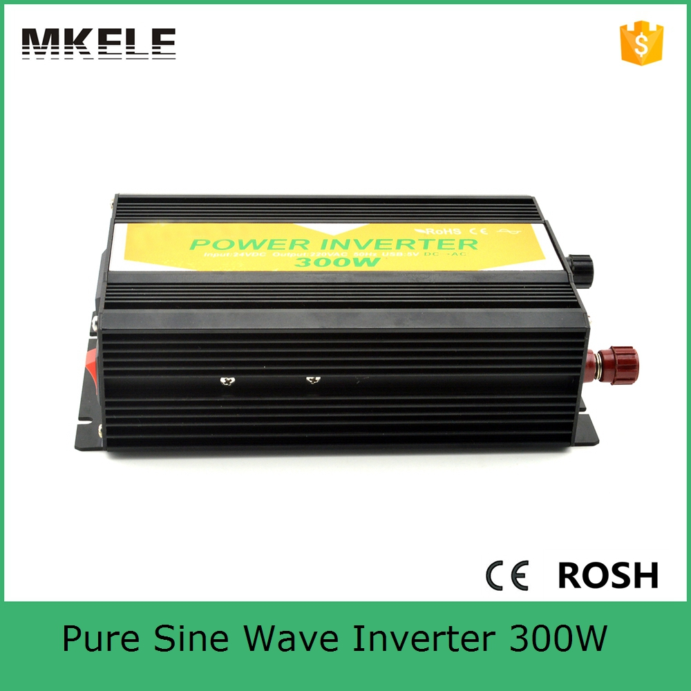 MKP300-482B dc ac pure sine wave off grid solar inverter 300w inverter 48v 230v inverter with metal case CE ROHS approved solar power on grid tie mini 300w inverter with mppt funciton dc 10 8 30v input to ac output no extra shipping fee