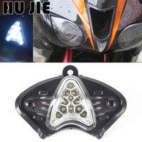 Motorcycle 12V 11 LED Night Running Upper Front Light Lamp Warning Lamp For Kawasaki ZX 6R ZX 6R 2007 2008 07 08