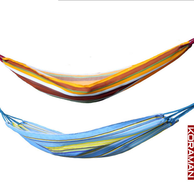 colorful oxford cloth double hammock portable outdoor camping