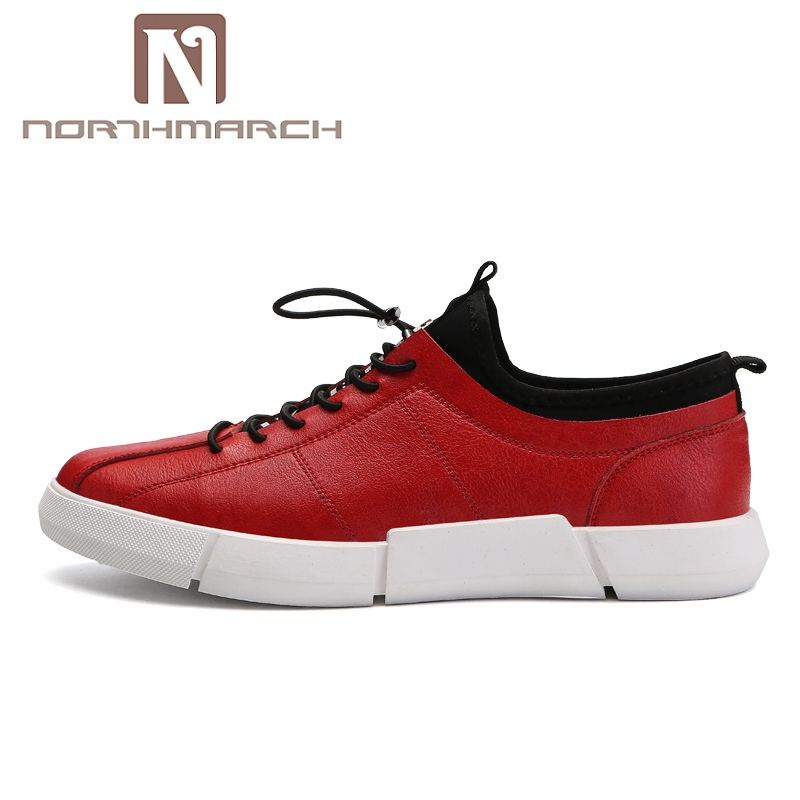 NORTHMARCH Spring/Autumn Fashion Casual Men Shoes Breathable Anti-Slip PU Male Shoes Brand Men Sneakers Shoes Sapatos Masculino