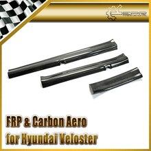 Автомобиль стайлинг Для Hyundai Veloster Углеродного Волокна Дверной Порог LHD (Палкой по Типу) На Складе