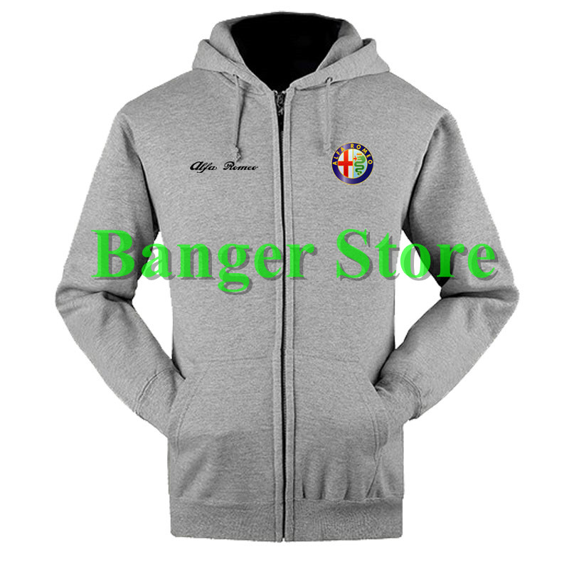 Alfa Romeo Sweatshirts Coat Custom Alfa Romeo 4s Shop Hoodie Jacket