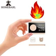 HOMEBAR JS06 Alarm 1.8 LCD Screen 3th HIFI MP4 Player Built-in Speaker 2 4GB 8GB 16GB Support 64GB TF Card Music Video E-Book FM