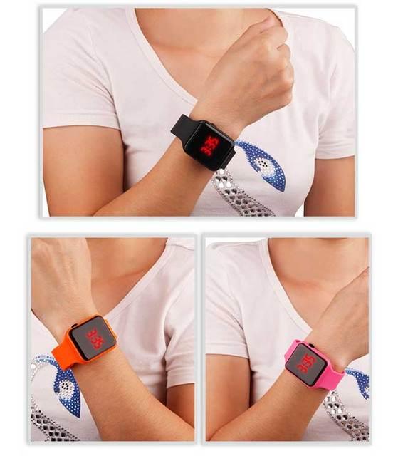 Reloj Digital Men Sport Watches LED Digital Dual Movement Military Electronics Watch Men Montre Homme 2019 men's wrist watches z
