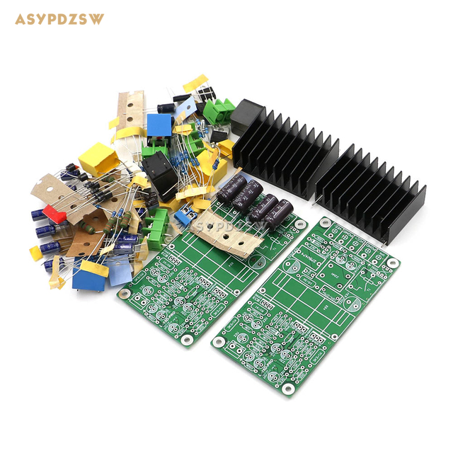 US $50 99  NEW Dual channel L15D PRO Class D IRS2092 IRFB4019 Stero Power  amplifier DIY Kit (2 boards) 300W-in Amplifier from Consumer Electronics on