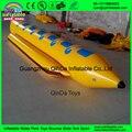 Горячие продажи надувной банан float, ПВХ надувной банан плавающей лодка для продажи