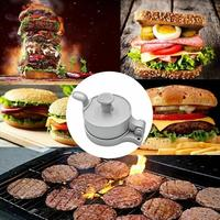 Aluminum Alloy Kitchen Hamburger Meat Press Tool Burger patty maker beef patty Makers Mold Hamburger Press Burger Maker tools