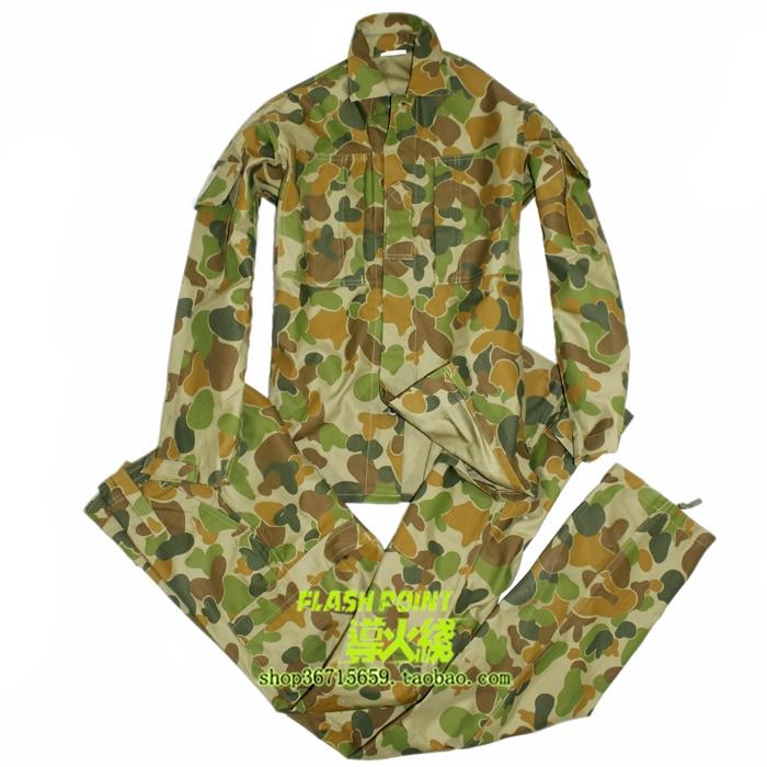 ФОТО us army military uniform for men Australian jungle combat uniform jacket and pants XS-XXL