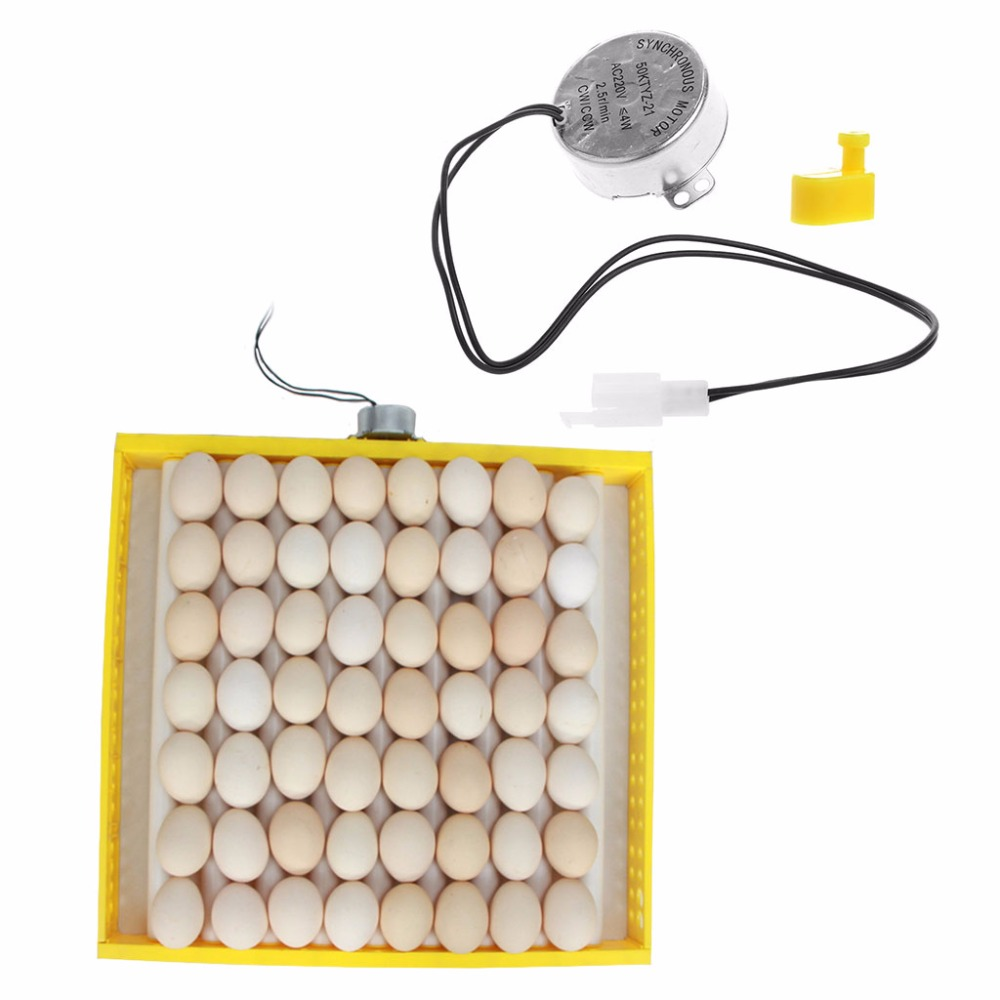 220V AC Chicken Eggs Turner Motor Components For Farm Hatcher Incubator Brooder Eggs  Incubator Farm Animals Accessories