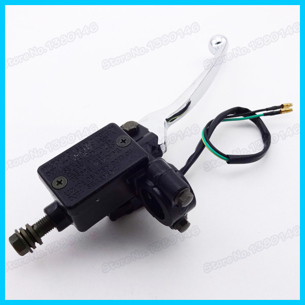 Atv,rv,boat & Other Vehicle Useful New Right Side For 50 110 125cc Atv Hydraulic Brake Master Cylinder Lever With Wire
