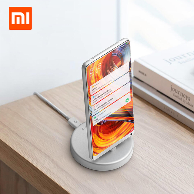 Xiaomi Panki Wireless Charger and phone stand for xiaomi 18W Fast Wireless Charging pad for Samsung S9/S9+ S8 Note 9 9+