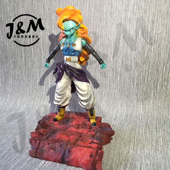 MODEL FANS JM Dragon Ball Z 16cm ZANGYA gk resin action figure toy for Collection model fans in stock dragon ball z 35cm super saiyangoku and time house gk resin statue figure for collection