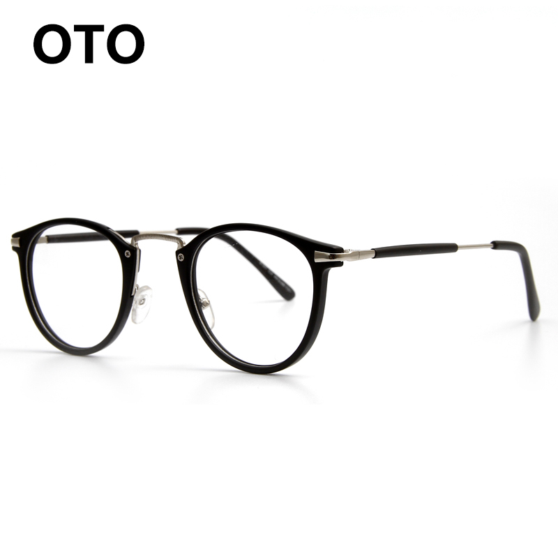 Glasses Frames For 60 Year Old Man : OTO Retro Round Eyes Glasses Frame Woman Men Vintage ...