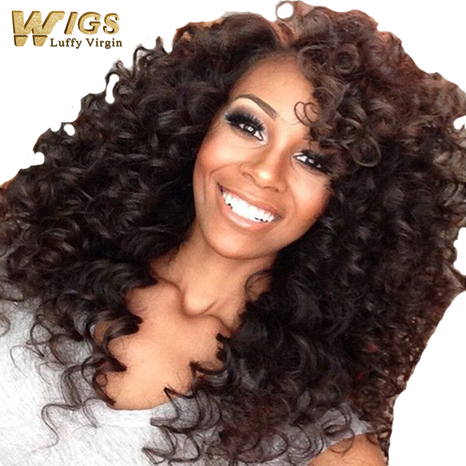 2016 On Sale Human Hair Curly Lace Front Wigs Full Lace