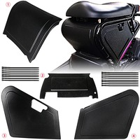 Motorcycle Under Seat Storage Black Body Panels For Honda Ruckus / Zoomer NPS50 Models