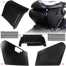 Motorrad Unter Sitz Lagerung Schwarz Körper Panels Für Honda Ruckus/Zoomer NPS50 Modelle