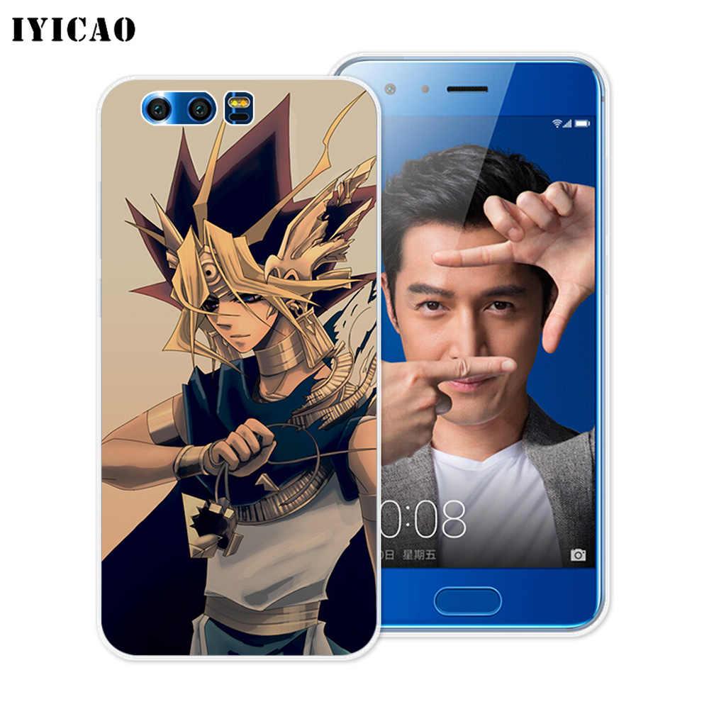IYICAO Yu Gi Oh Yugi Muto suave de silicona caso para Huawei Y9 Y7 Y6 primer 2018 Honor 8C 8X 8 9 10 Lite 7X 7C 6A 7A Pro