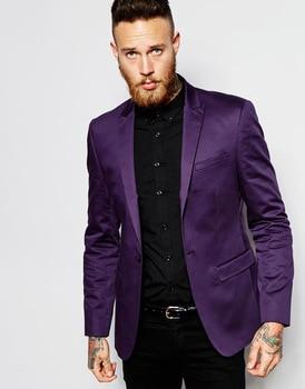 Handsome Groomsmen Peak Lapel Groom Tuxedos One Button Men Suits Wedding/Prom/Dinner Best Man Blazer ( Jacket+Pants+Tie )