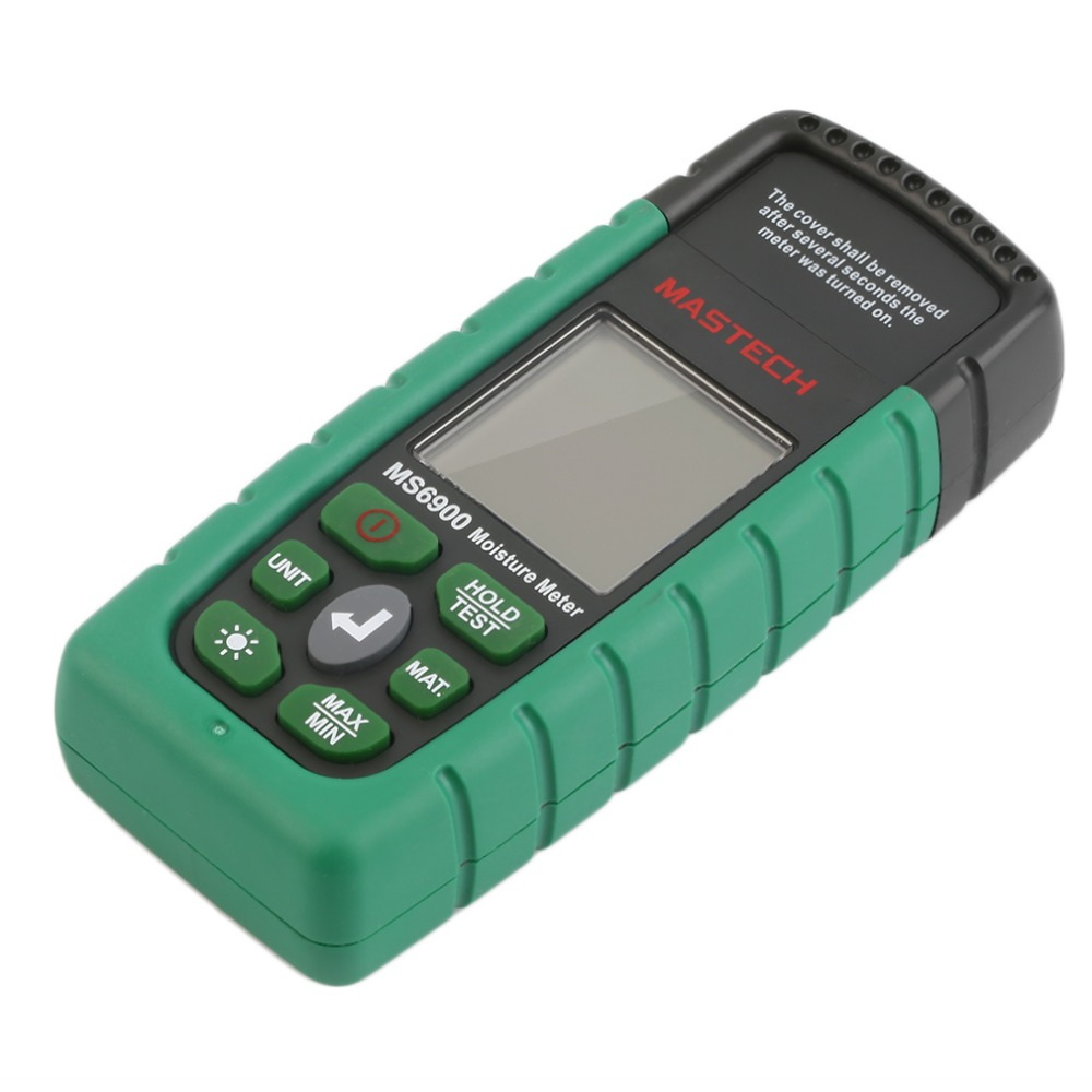 1 pcs Mastech MS6900 Digital Wood Moisture Temperature Meter Humidity Tester Worldwide Store [randomtext category=