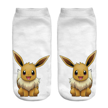 2017 New Arrival HARAJUKU 3D Pokemon Printed Socks
