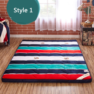 Thick Warm Foldable Single Or Double Mattress Fashion NEW Topper Quilted Bed Hotel