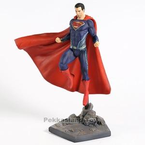 Image 5 - スーパーマンジャスティスリーグアクションモデルおもちゃ鉄スタジオ PVC グッズフィギュア像おもちゃ