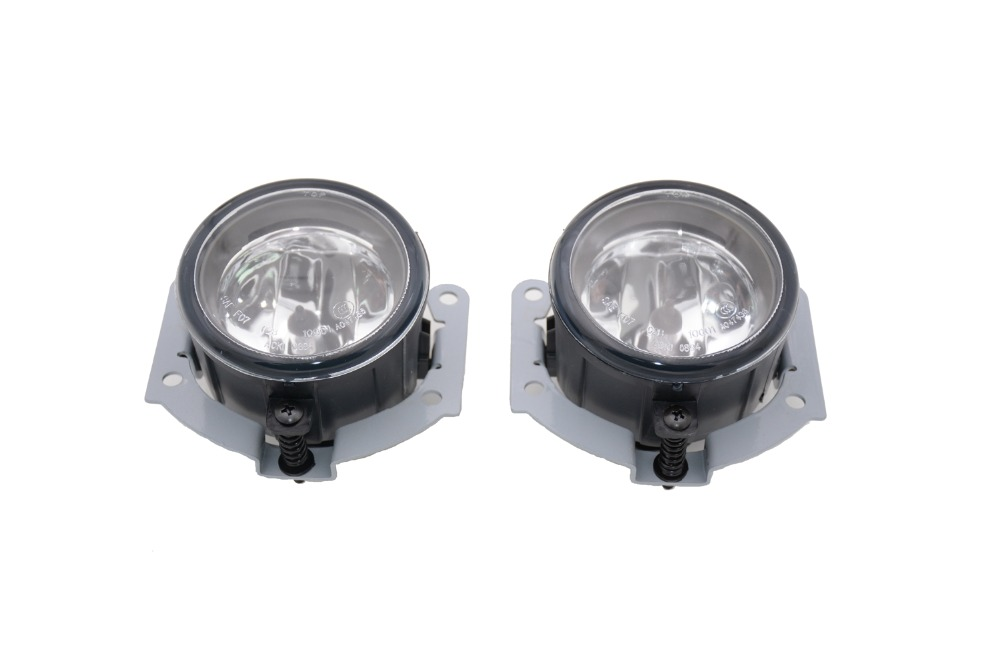 1 Pair 8321A278 front bumper fog lamps driving lights With Bulb LH+RH for Mitsubishi Lancer 2007-2010 цена