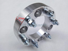 50mm (2piece) a pair of 6 x 5 5 (139.7 mm), the hole is 108 mm, adapter, wheel spacers for Toyota 80 Series, mitsubishi pajero